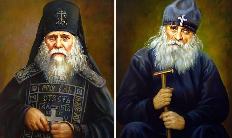 Преподобный Анатолий Оптинский и преподобный Исаакий Оптинский