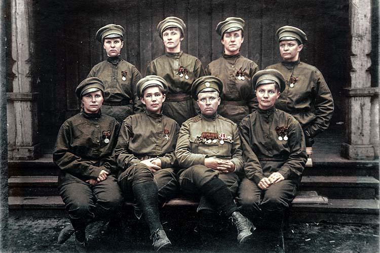 Рота 1-го Петроградского женского батальона