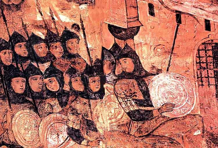 Русы под стенами Константинополя