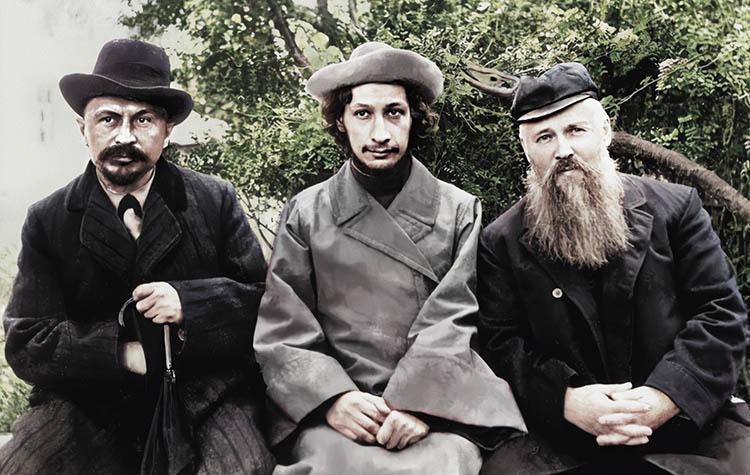 Сергей Булгаков, Павел Флоренский и Михаил Новоселов