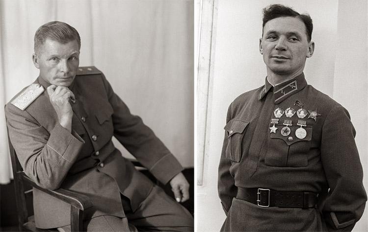 Сергей Ильюшин и Владимир Коккинаки