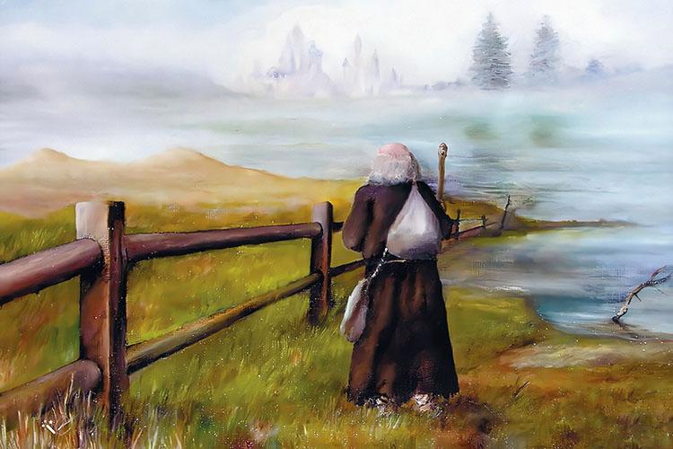 Старец у воды
