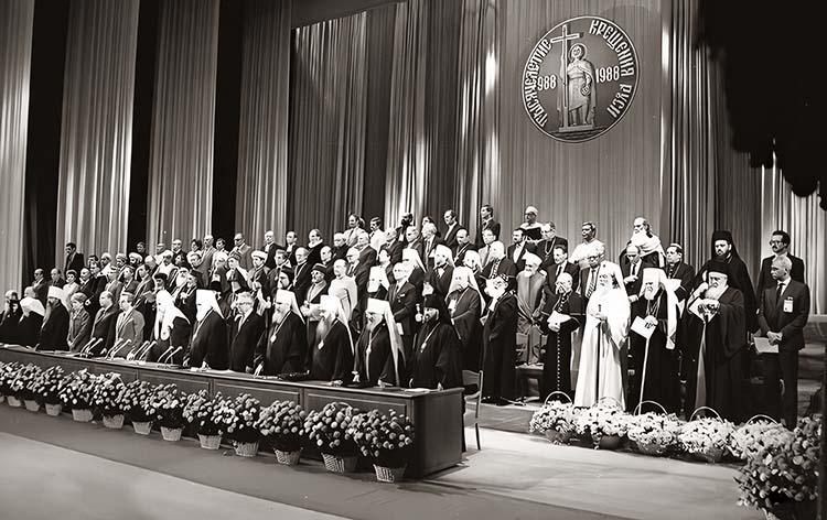 Торжественный акт, посвященный 1000-летию Крещения Руси