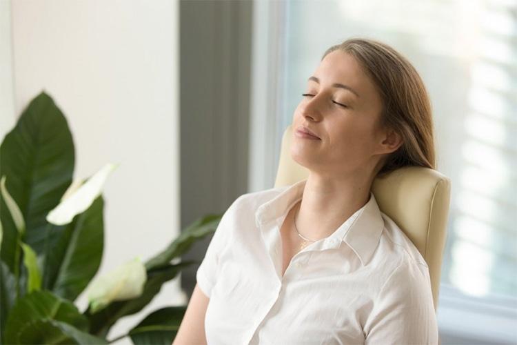 Упражнение на расслабление глаз