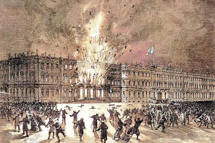 Взрыв в Зимнем дворце