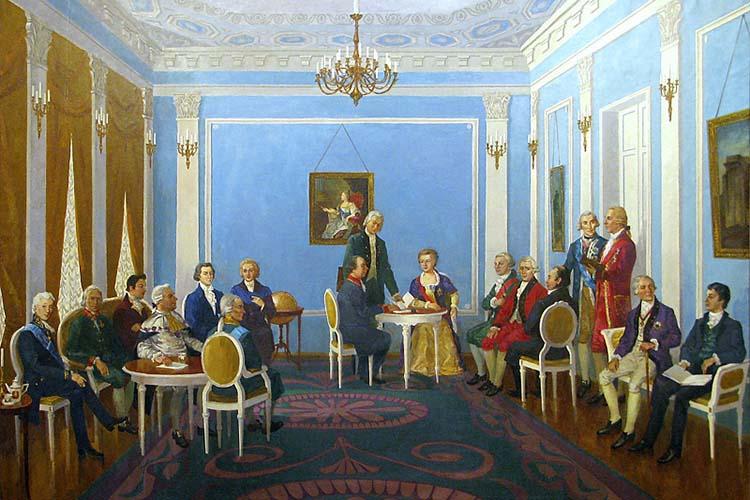 Заседание Российской Академии наук