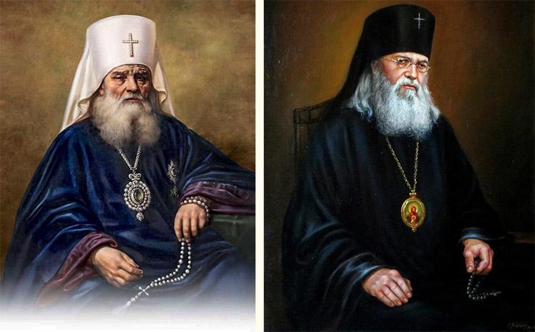 Cвятители Иннокентий Московский и Лука Крымский