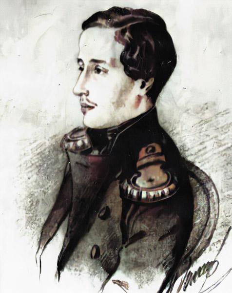 Александр Александрович Пушкин 1851 год