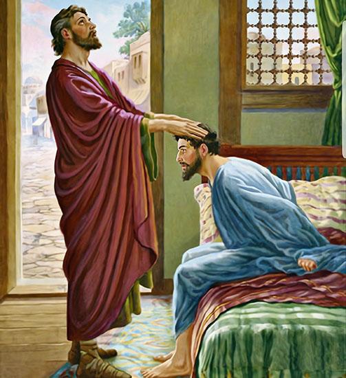 Апостол Павел исцеляет Отца Публия