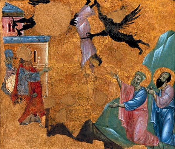 Апостол Петр и Симон Волхв