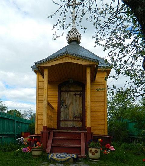 Часовня на месте, где жила Матрона Анемнясевская