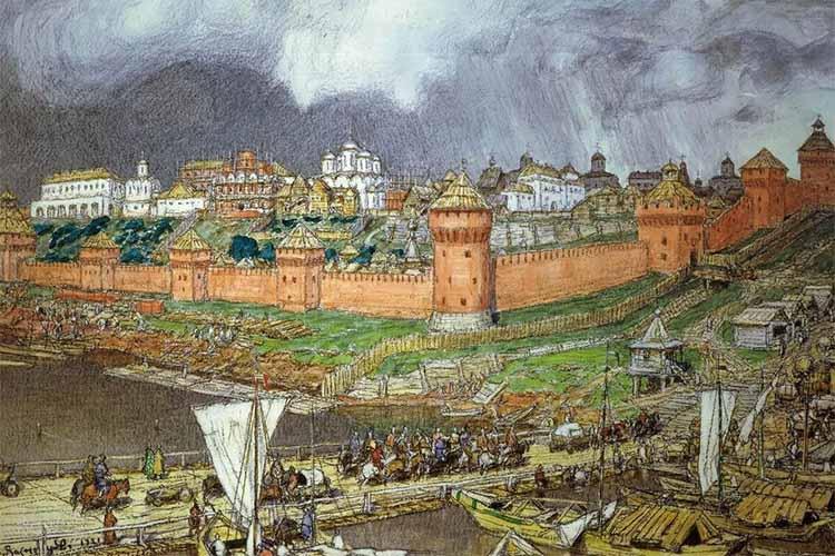 Древняя Москва