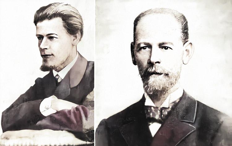 Евгений Яковлев и Петр Фрезе