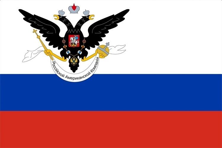 Флаг Русской Америки