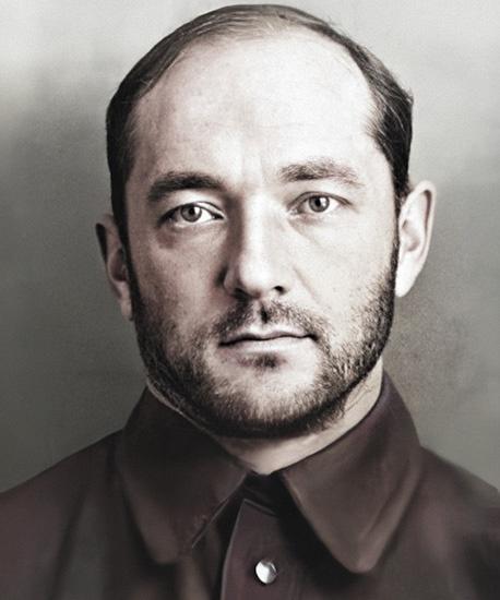Георгий Лангемак после ареста