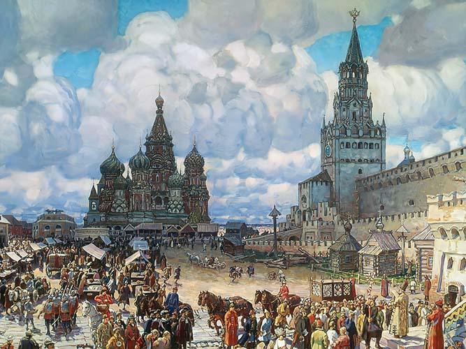 Красная площадь при Иване Грозном