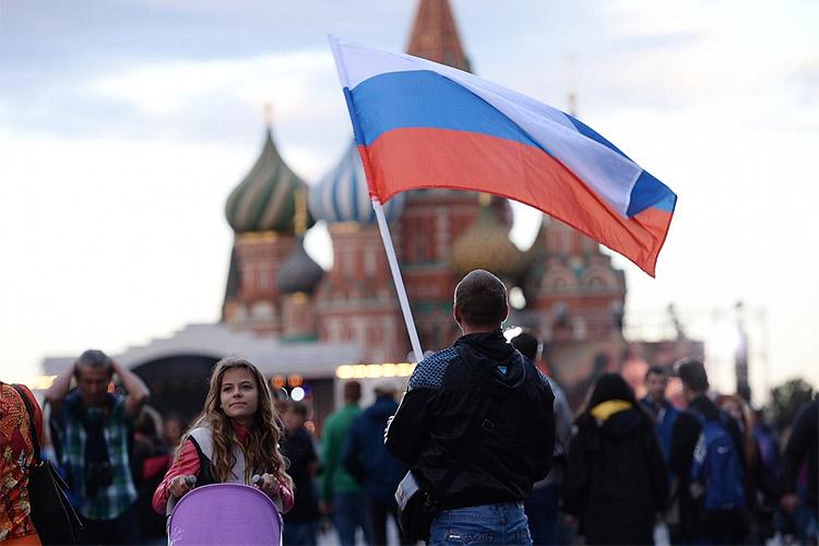 Люди на Красной площади