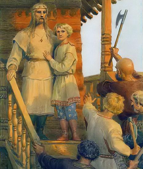 Мученики Феодор-варяг и Иоанн