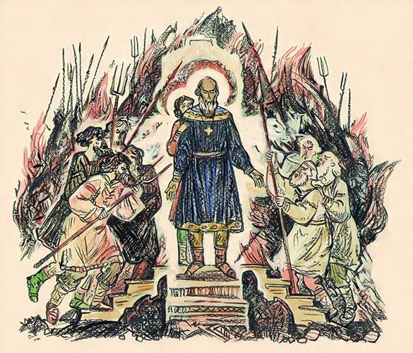 Мученики Феодор-варяг и его сын Иоанн