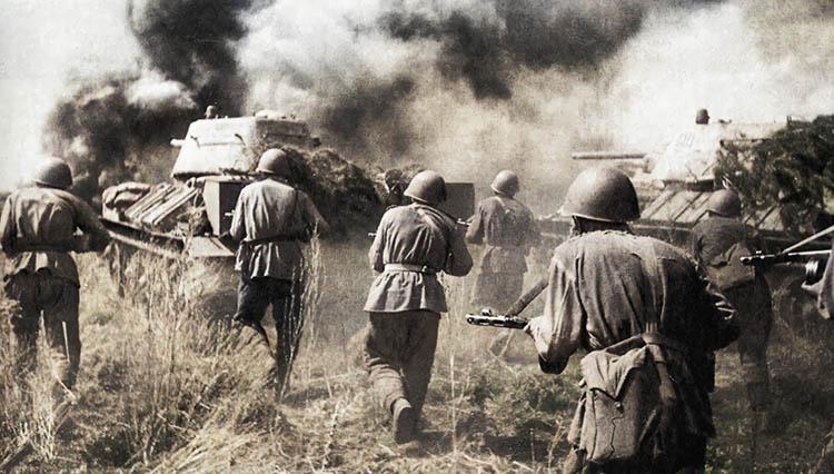 Наступление Красной Армии