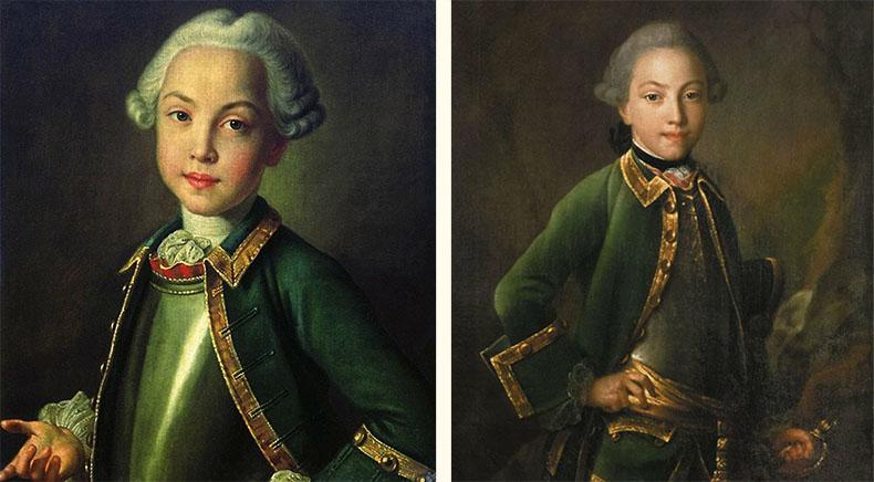 Николай Шереметев в детстве