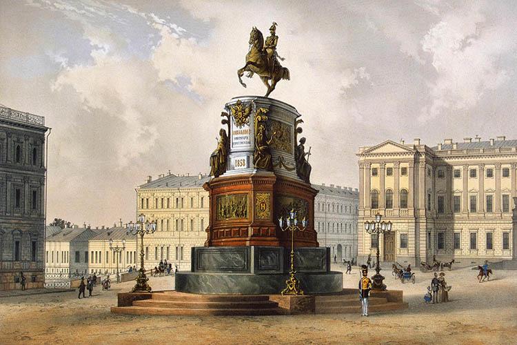 7 июля в истории. Памятник Николаю I