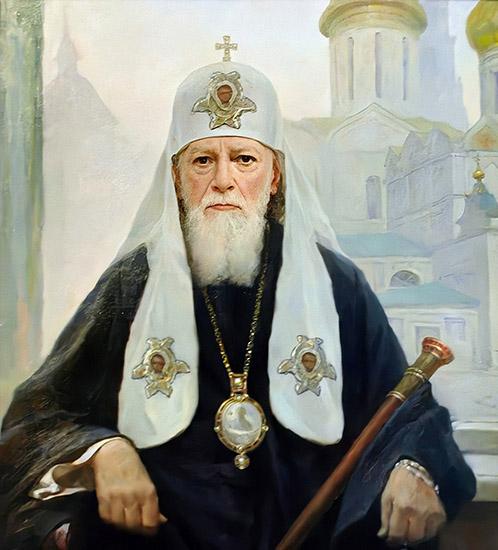 Патриарх Московский и всея Руси Алексий