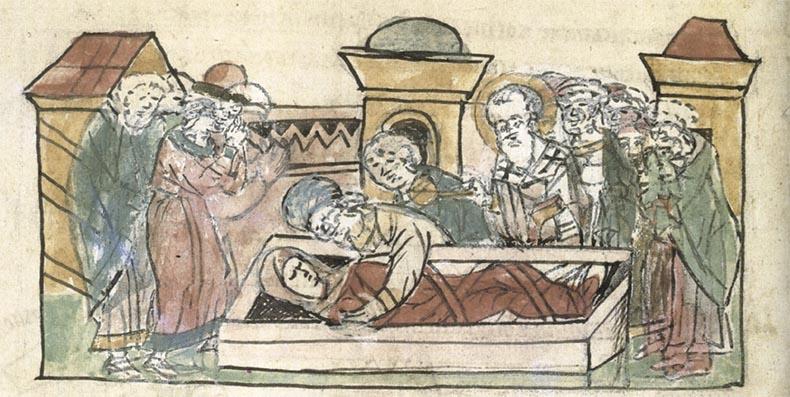 Погребение княгини Ольги