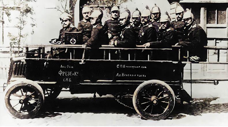 Пожарный автомобиль Фрезе