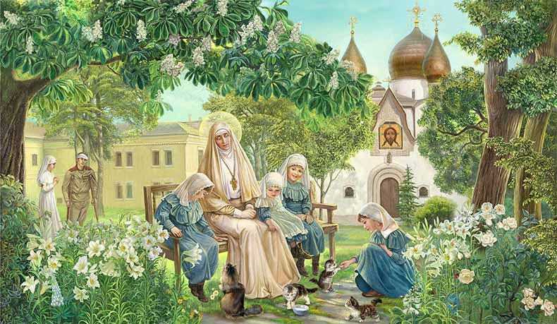 Преподобномученица Елисавета Феодоровна