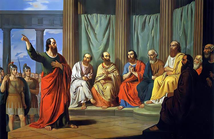 Проповедь апостола Павла