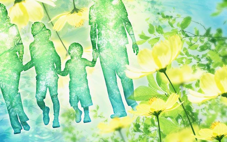 Семья и природа