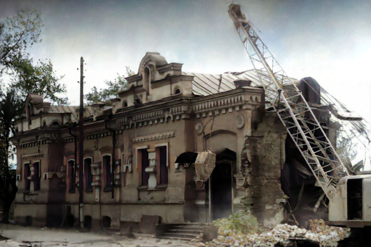 Снос дома Ипатьева