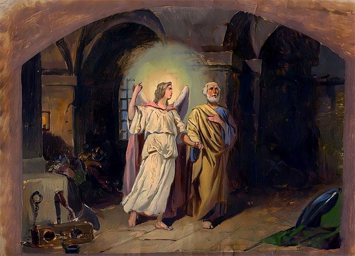 Спасение апостола Петра из темницы