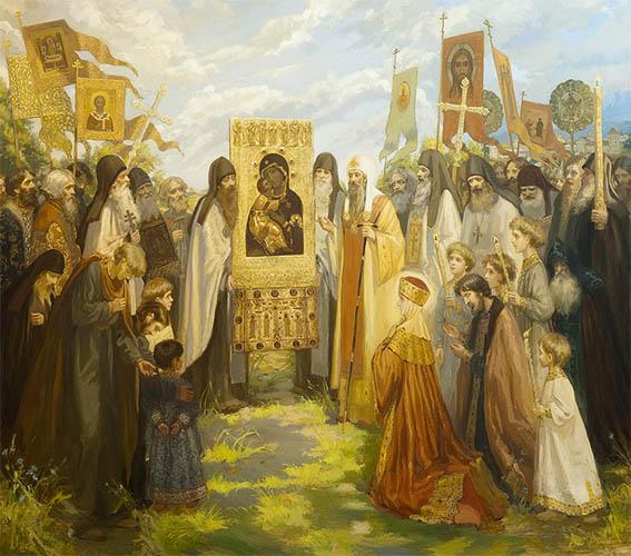 Сретение Владимирской иконы Божией Матери в Москве