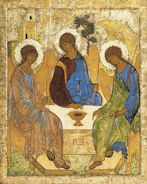 Святая Троица Андрея Рублева