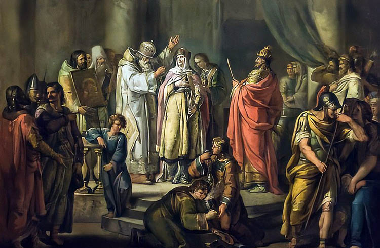 Святая княгиня Ольга в Византии