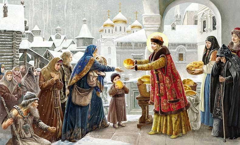 Святая праведная Иулиания Лазаревская, Муромская