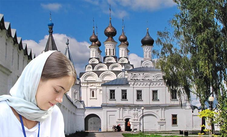 В Троицком монастыре Мурома