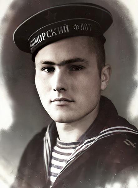 Василий Шукшин на Черноморском флоте