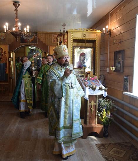 Великое освящение храма Казанской иконы Божией Матери поселка Ветлужский