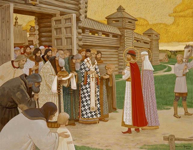 Возвращение Петра и Февронии