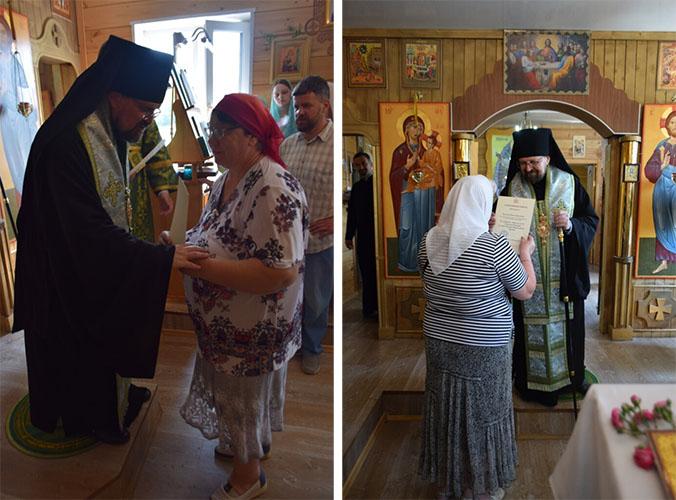 Вручение архиерейских грамот в храме Казанской иконы Божией Матери