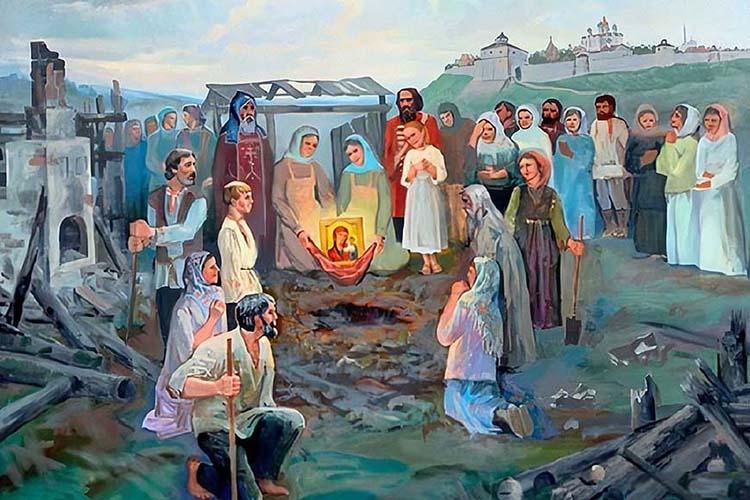 Явление Казанской иконы Пресвятой Богородицы