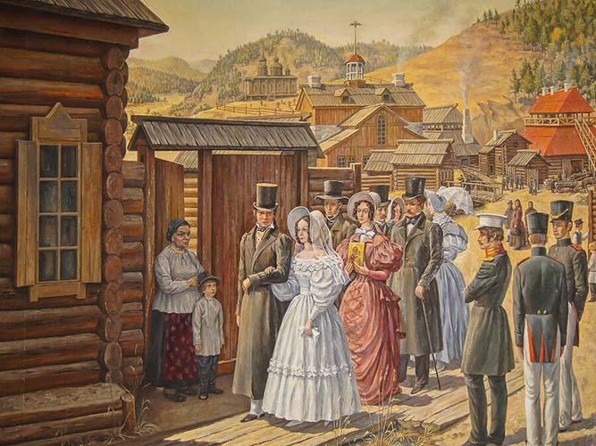 Декабрист Василий Ивашев и его женитьба