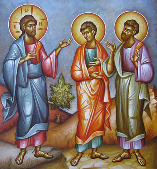 Христос, Филипп и Нафанаил