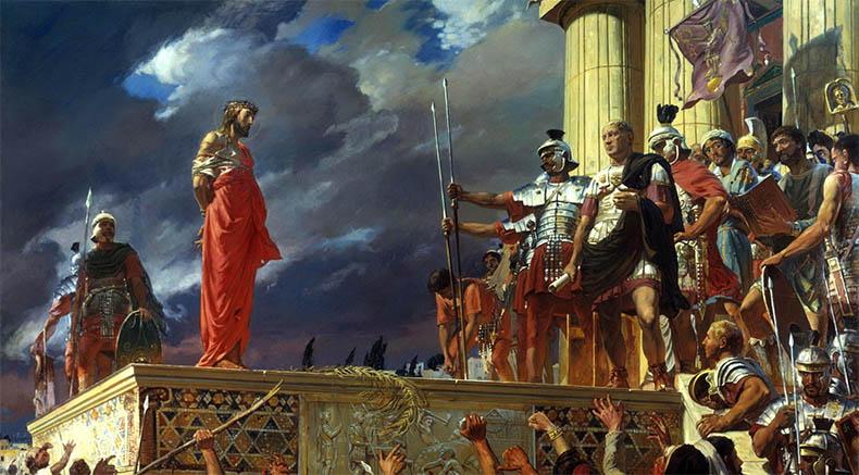 Христос и Понтий Пилат