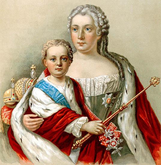 Иоанн Антонович и Анна Леопольдовна