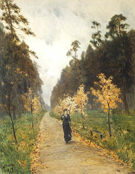 Исаак Левитан. Осенний день. Сокольники