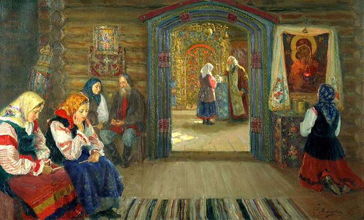 Молитва перед иконой Пресвятой Богородицы
